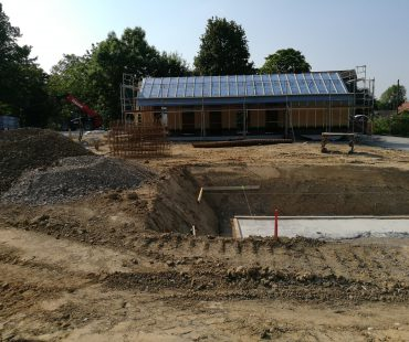 Juni 2017: Baustelle Dorf Sentana