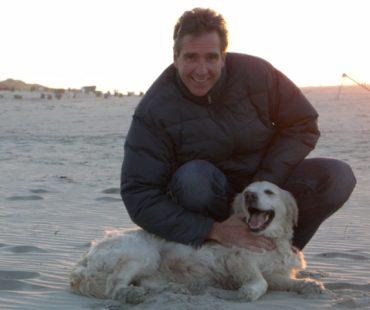 Ralph Anstoetz mit seiner Senta