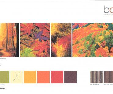 Herbstliche Farbgebung