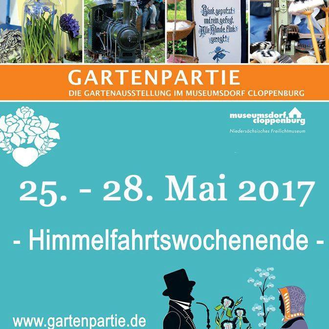 Gartenpartie Museumsdorf Cloppenburg