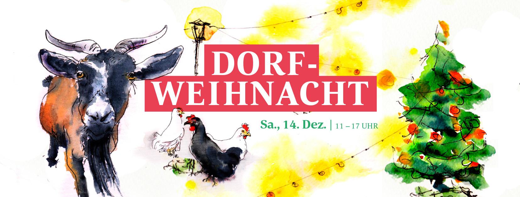Dorf-Weihnacht: Winterfest der Sentana Stiftung