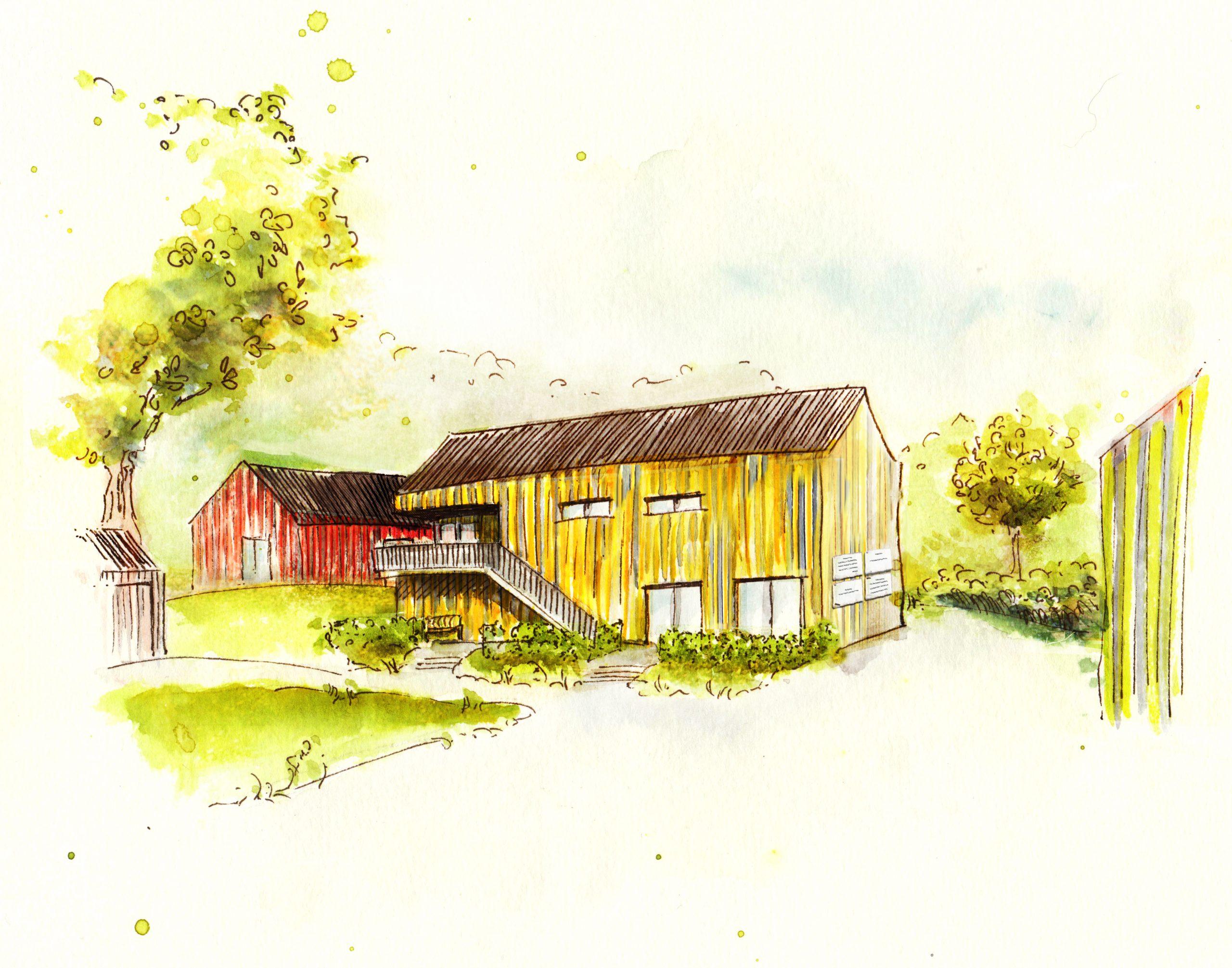 Ein neues Gebäude für den Ausbau unserer sozialen Projekte