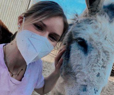 Jenny mit Esel