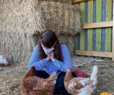 Lina und die Hühner